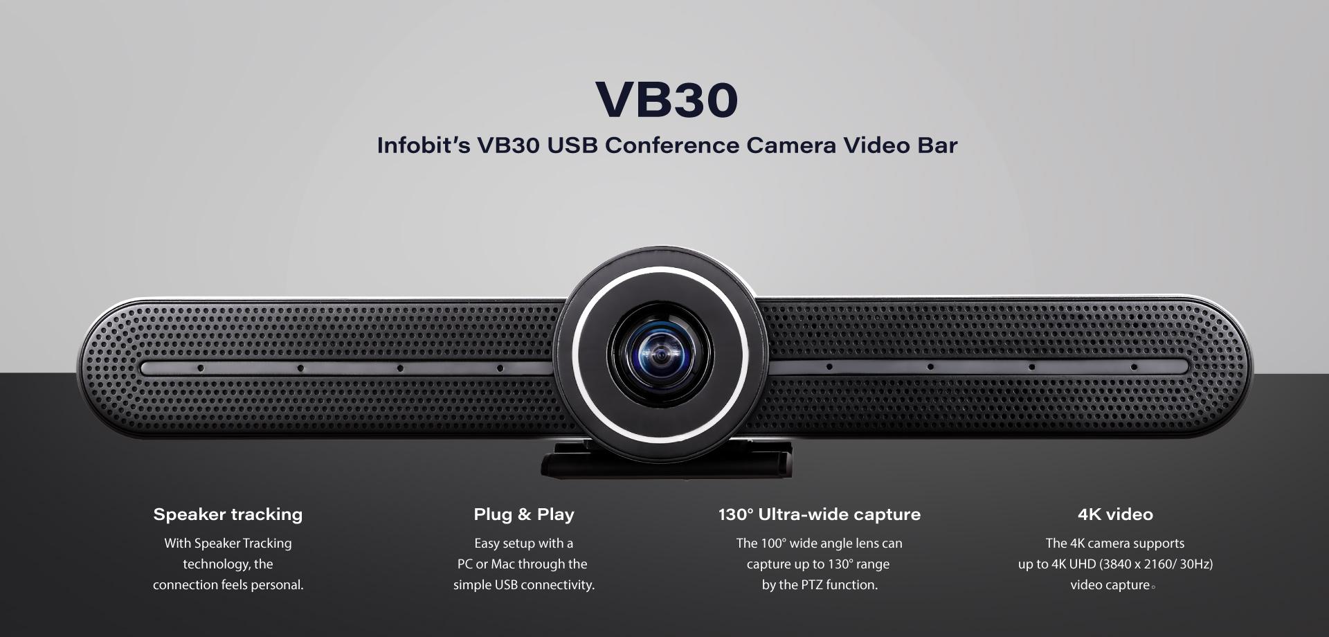 iCam VB30 USB conference camera