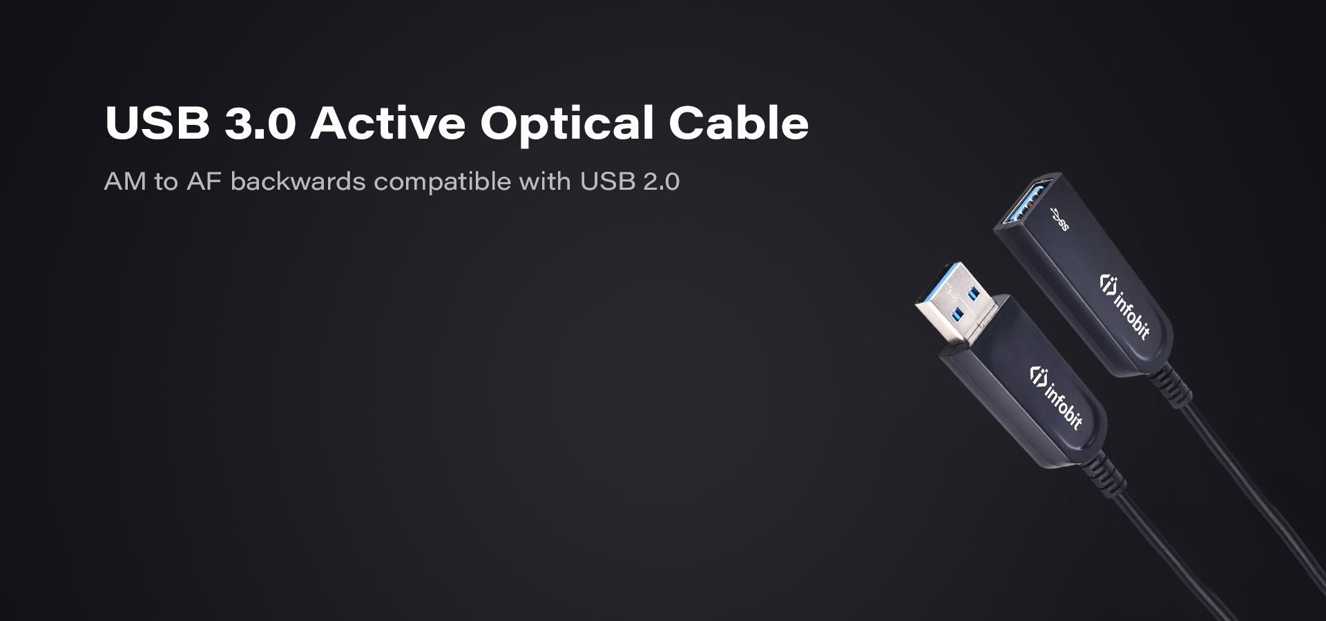 USB 3.0 Active Optical Fiber Cable AOC
