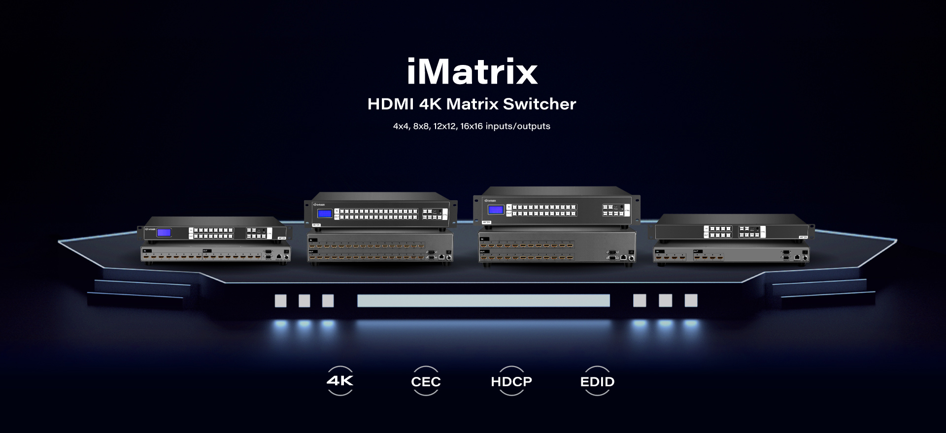 iMatrix-HDMI-4k-matrix-switcher