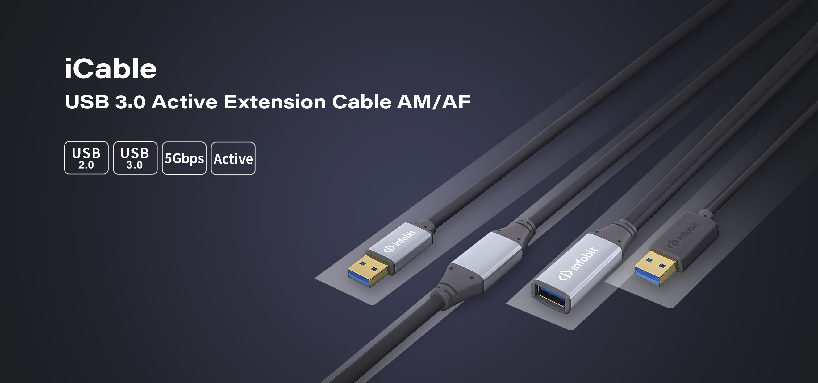iCable Active USB 5Gbps Cooper Cable ACC