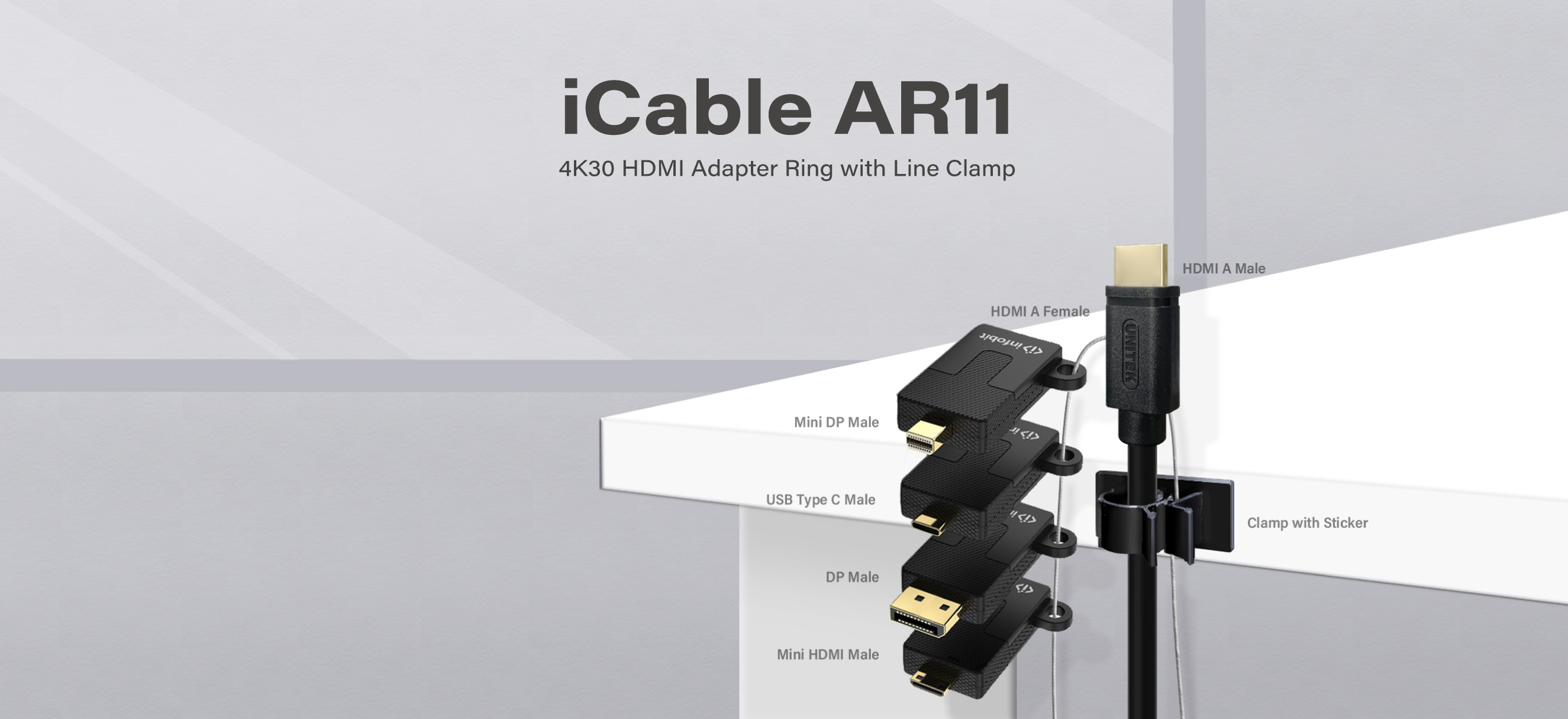 iCable AR11 4K30 HDMI Adapters Ring