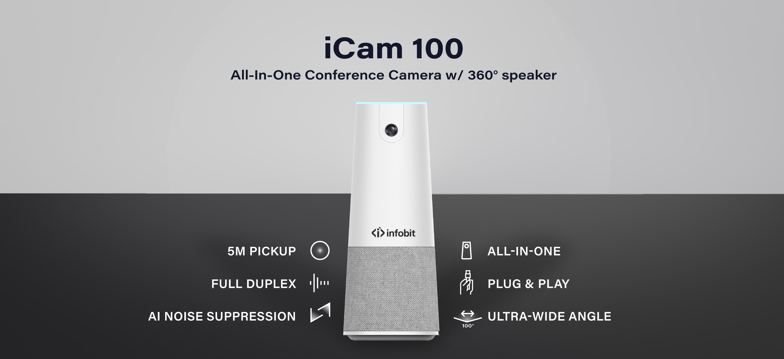 iCam 100: All-in-One conference Camera