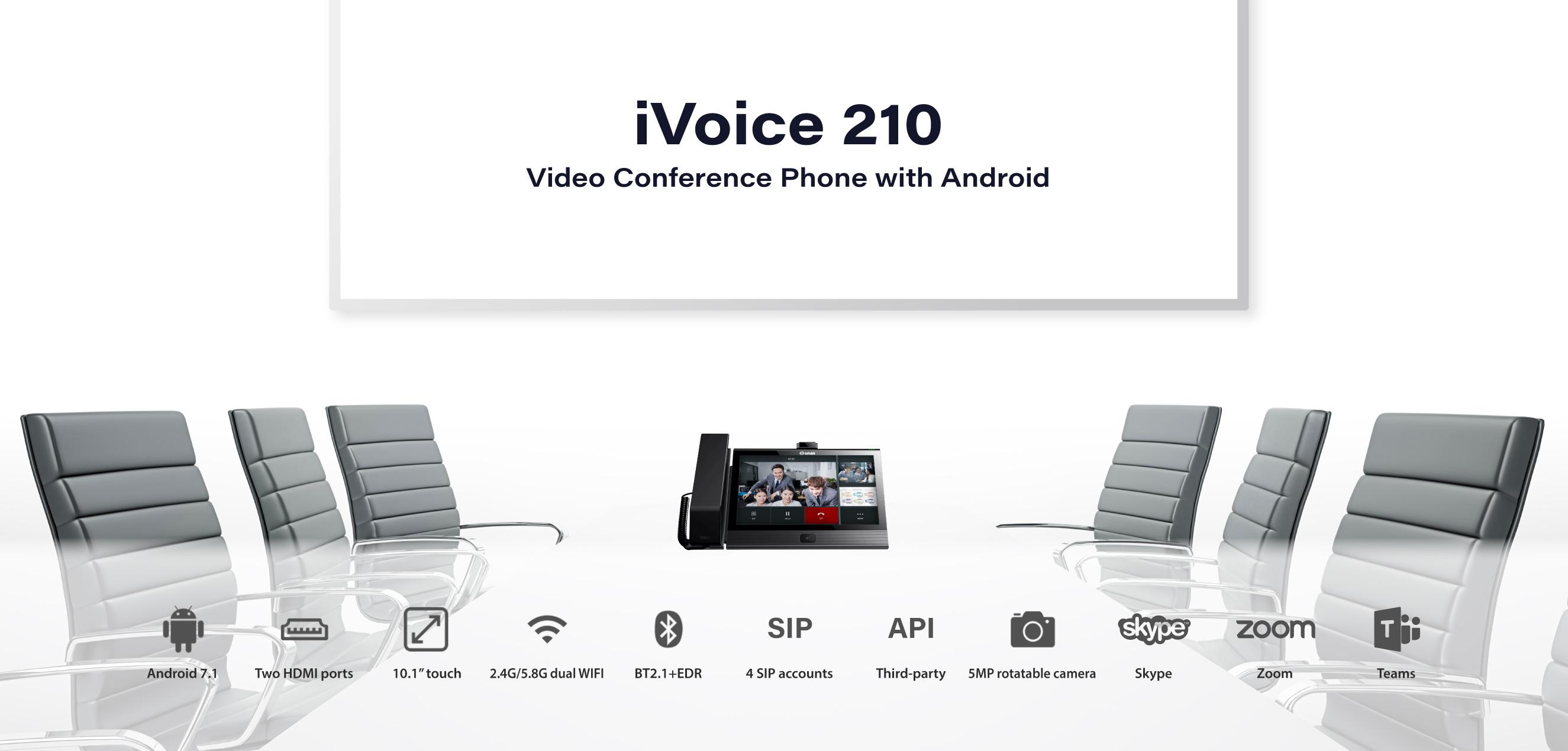 iVoice 210 Audio Desk Phone
