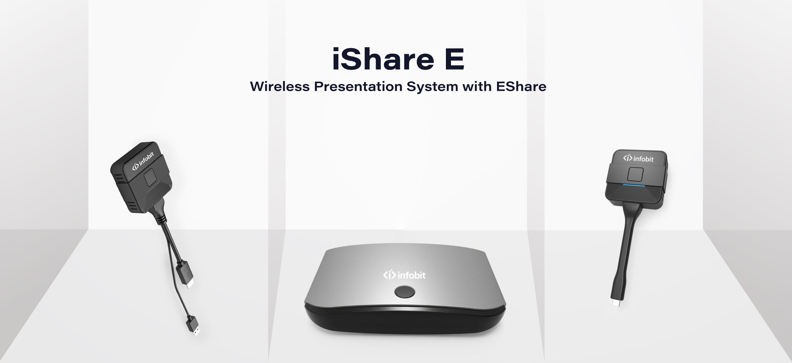 iShare E Wireless Presentation BYOD