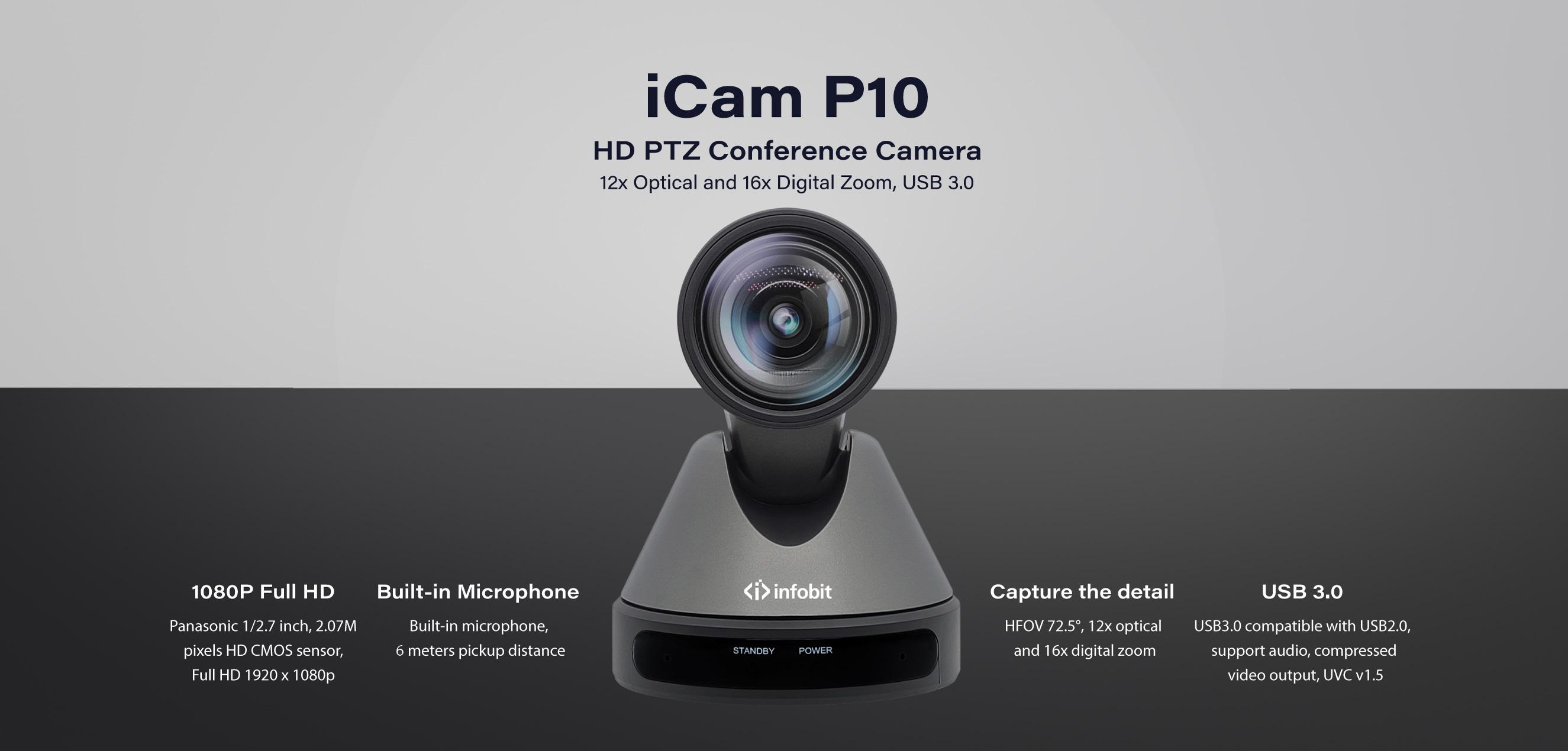 iCam-P10-HD-PTZ-Camera