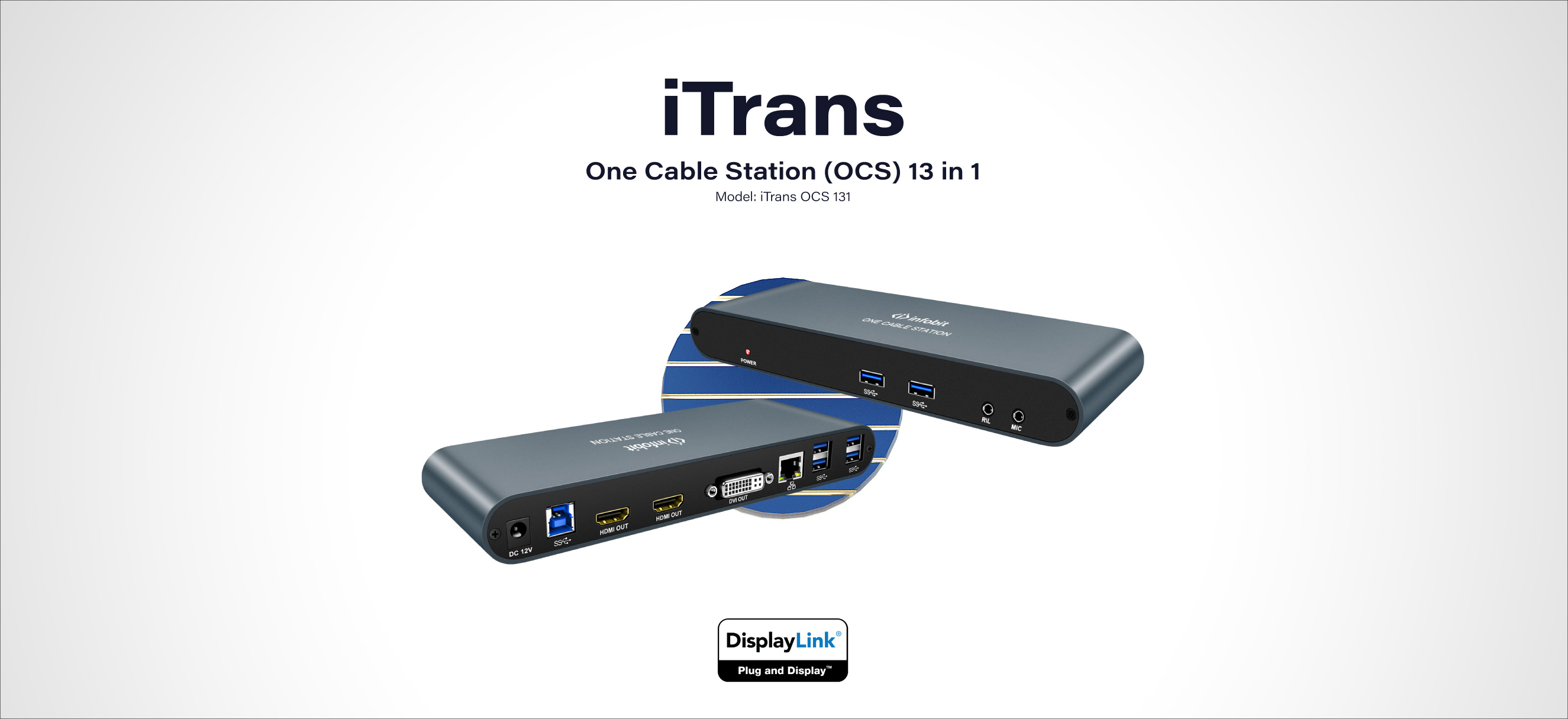 iTrans OCS 131 One Cable Station 13 in 1