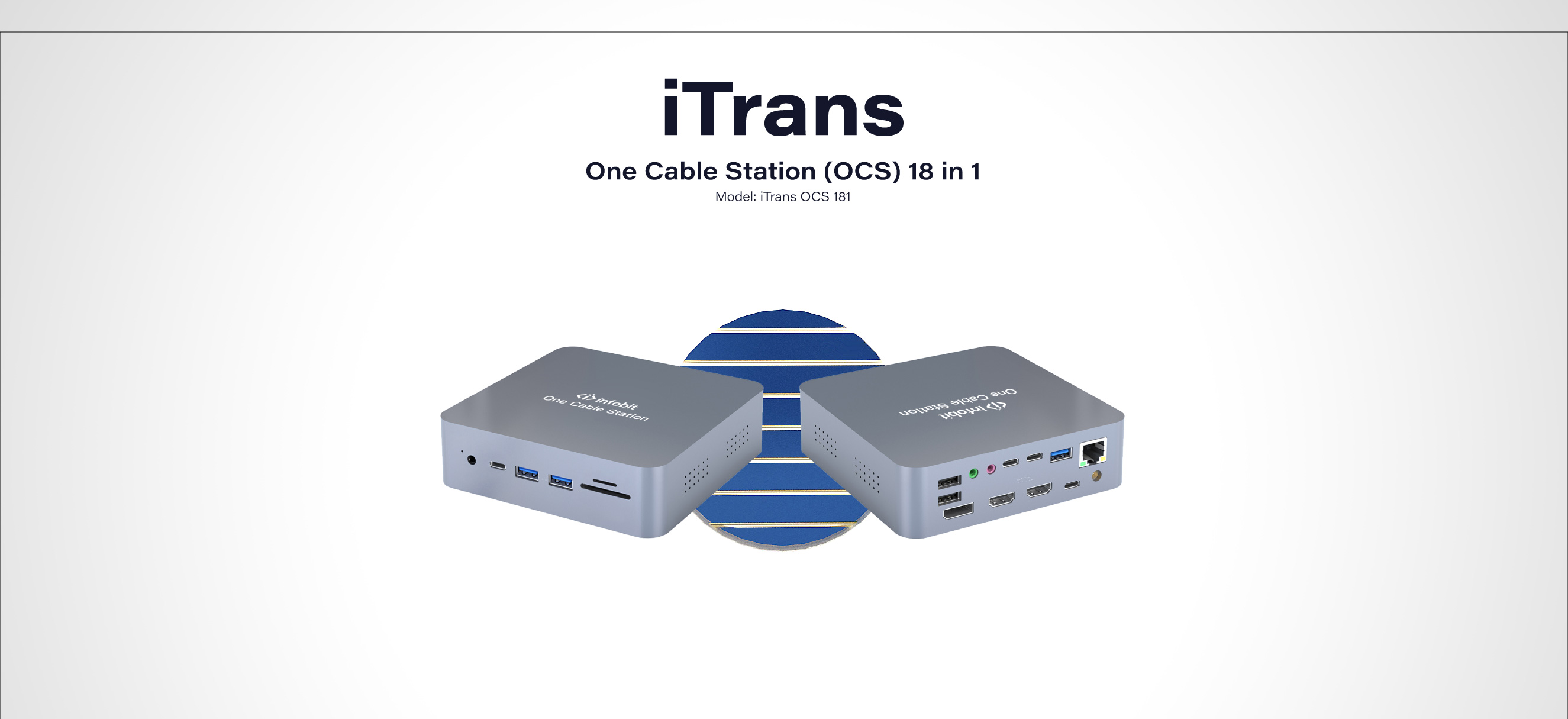 iTrans OCS 181 One Cable Station 18 in 1
