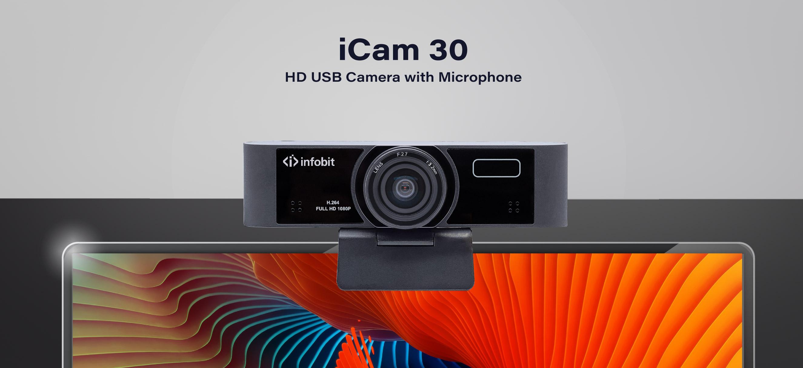 INFOBIT iCam 30 AF HD webcam
