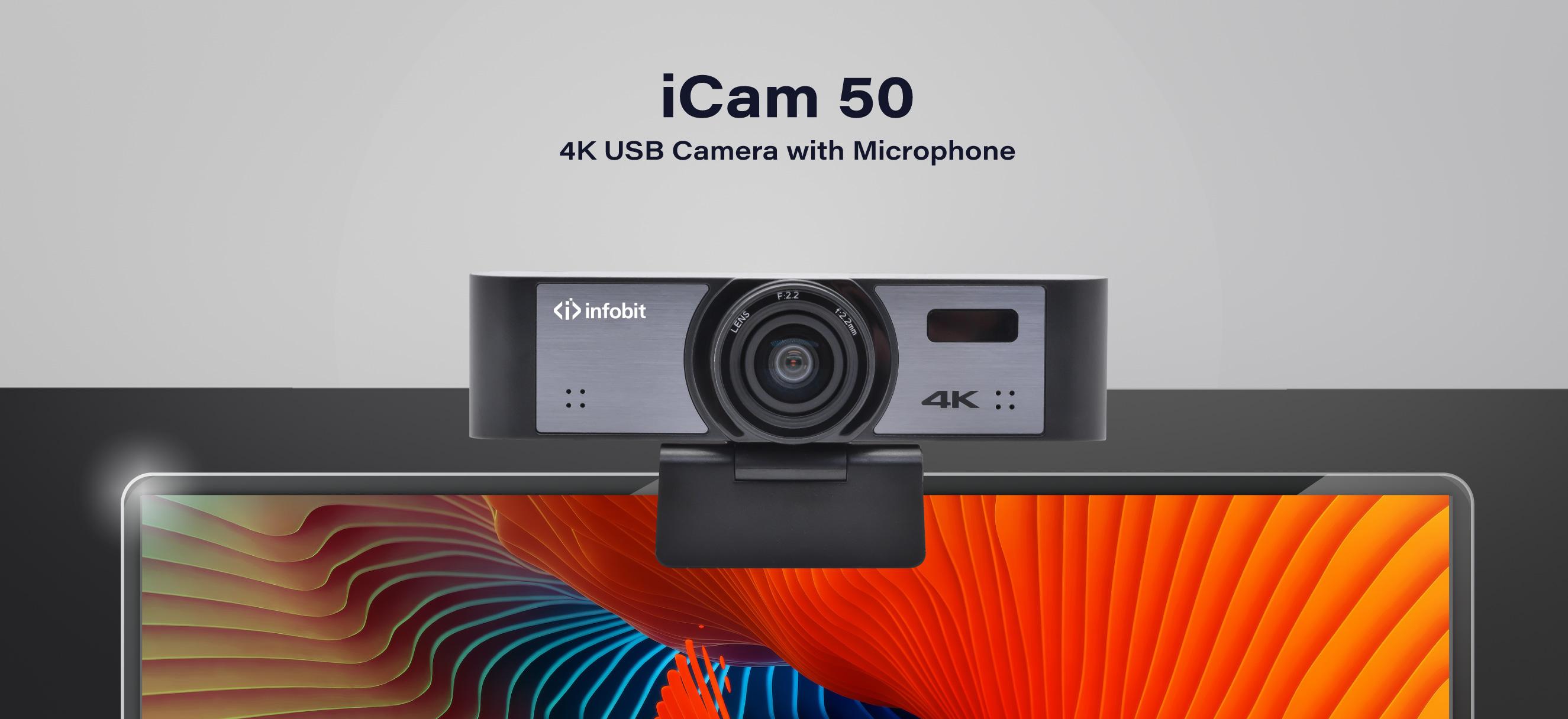 iCam-50-4K-USB camera