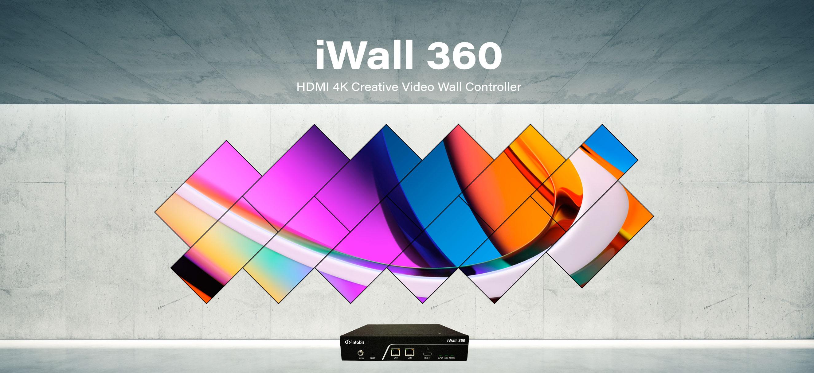 INFOBIT AV iWall 360 Video Wall Controller